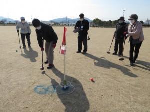 グラウンド・ゴルフ大会(笠岡)